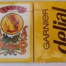 Barajas de cartas: BARAJA DE CARTAS ESPAÑOLA. GARNIER DE DELIAL. PRECINTADA. 40 NAIPES. . Lote 24319258