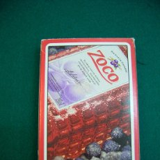 Barajas de cartas: BARAJA CARTAS NAIPES ESPAÑOLA FOURNIER PACHARAN ZOCO. Lote 21584656