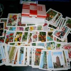 Barajas de cartas: LOTE DE 2 JUEGOS DE BARAJAS ANTIGUAS EN SU CAJA DE POKER. Lote 27262434