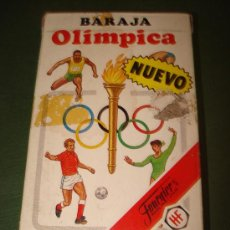 Barajas de cartas: DESCATALOGADA BARAJA INFANTIL BARAJA OLIMPICA DE FOURNIER.SIN USAR.. Lote 20473087