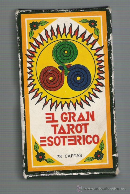 BARAJA DEL GRAN TAROT ESOTERICO CON CAJA Y INSTRUCCIONES 78 CARTAS (Juguetes y Juegos - Cartas y Naipes - Barajas Tarot)