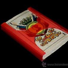Barajas de cartas: BARAJA COMPLETA DE 40 CARTAS TROQUELADAS AÚN SIN SEPARAR. ORIGINAL AÑOS 50-60. VER FOTOS.. Lote 27281381