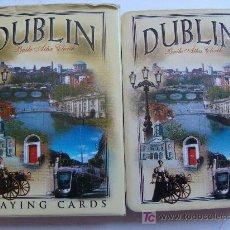 Jeux de cartes: BARAJA DE CARTAS DE PÓKER. DUBLIN, IRLANDA. TURISMO. 54 NAIPES. . Lote 20783512