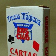 Barajas de cartas: BARAJA INFANTIL, TRUCOS MAGICOS, PREMIUM, BURGUER KING, KIDS CLUB, . Lote 20813324