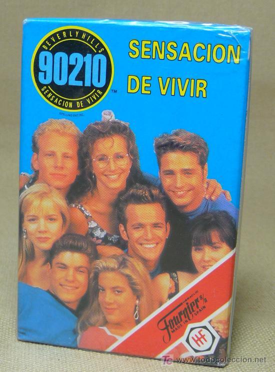 BARAJA INFANTIL, FOURNIER, SENSACION DE VIVIR, 90210, BEVERLYHILLS (Juguetes y Juegos - Cartas y Naipes - Barajas Infantiles)