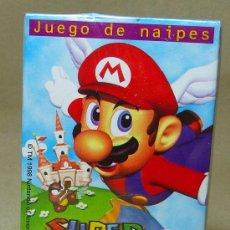 Barajas de cartas: BARAJA INFANTIL, FOURNIER, SUPER MARIO 64, NINTENDO. Lote 20813426