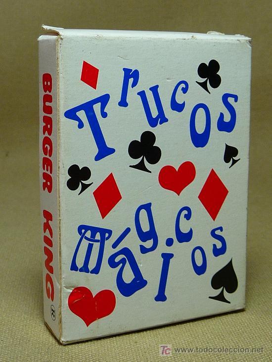 Barajas de cartas: BARAJA INFANTIL, TRUCOS MAGICOS, PREMIUM, BURGUER KING, KIDS CLUB, - Foto 2 - 20813324