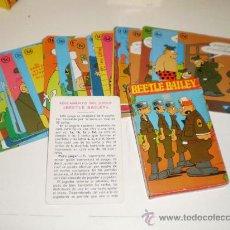 Barajas de cartas: BARAJA BEETLE BAILEY. ORIGINAL 1974 NO REPRO. SIN USO.. Lote 27502054
