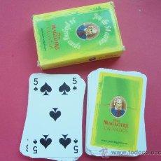 Barajas de cartas: BARAJA DE LA CASA PERA MAGLOIRE CALVADOS. Lote 26492911
