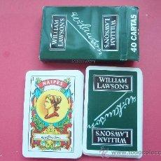 Barajas de cartas: BARAJA DE LA CASA WILLIAM LAWSON'S. Lote 26405800