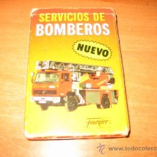 Mazzi di carte: SERVICIOS DE BOMBEROS FOURNIER. Lote 22323113