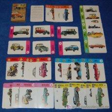 Barajas de cartas: BARAJA - EL JUEGO DE LOS COCHES - EDICIONES RECREATIVAS - ¡IMPECABLE!. Lote 26280726