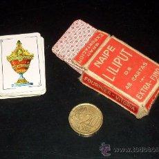 Barajas de cartas: BARAJA NAIPE LILIPUT - FOURNIER - 48 CARTAS. Lote 26095164