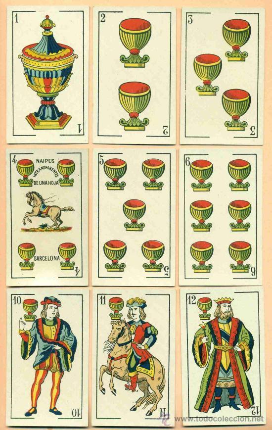 Barajas de cartas: BARAJA ESPAÑOLA DE LUIS GUARRO - Foto 2 - 21534713
