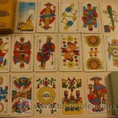 Barajas de cartas: ESPECTACULAR TAROT ANTIGUO MARCA CAPPELLANO , NUEVO, SIN USO, AÑOS 1950'S. Lote 147327461