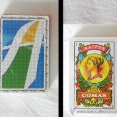 Barajas de cartas: BARAJA DE CARTAS ESPAÑOLAS COMAS - PUBLICIDAD ANDALUCÍA - PRECINTADA - JUGUETE NAIPE ESPAÑOL. Lote 26077470