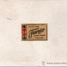 Barajas de cartas: ESTUCHE CON 2 BARAJAS DE CARTAS FRANCESAS. FOURNIER. PLASTIC COATED. MADE IN SPAIN.. Lote 23490901