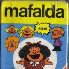 Barajas de cartas: BARAJA INFANTIL MAFALDA 1989 FOURNIER, EN SU ESTUCHE. Lote 26609677