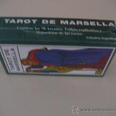 Barajas de cartas: TAROT DE MARSELLA- JOKER - ARGENTINA- 78 CARTAS - NUEVO SIN USO. Lote 22173558