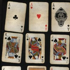 Barajas de cartas: BARAJA NAIPES 53 CARTAS PLAYING CARDS LINEN FINISH. Lote 22339965