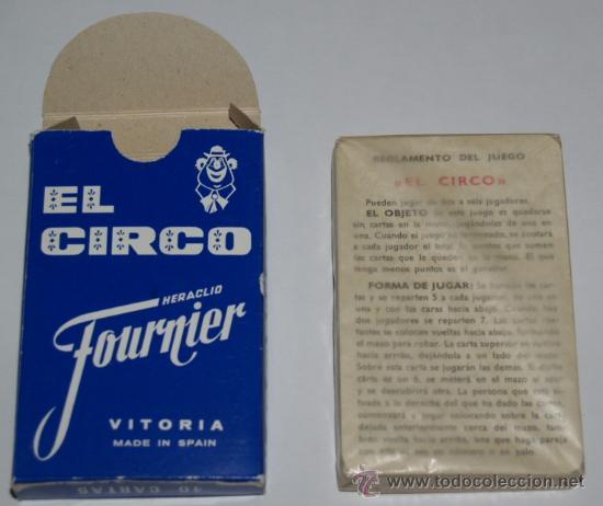 Barajas de cartas: Baraja infantil EL CIRCO (1ª EDICIÓN ) - Foto 4 - 27513898