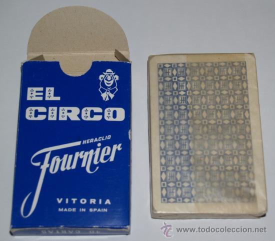 Barajas de cartas: Baraja infantil EL CIRCO (1ª EDICIÓN ) - Foto 5 - 27513898