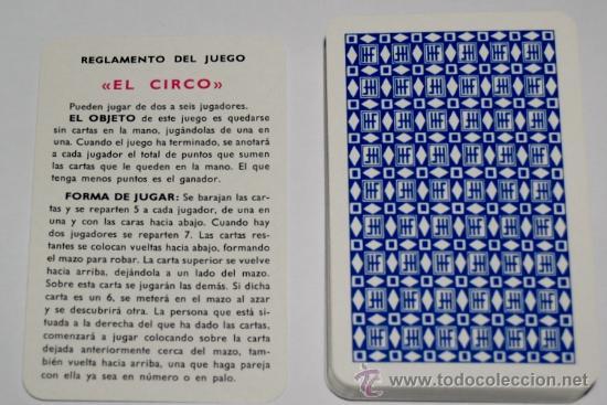 Barajas de cartas: Baraja infantil EL CIRCO (1ª EDICIÓN ) - Foto 3 - 27513898