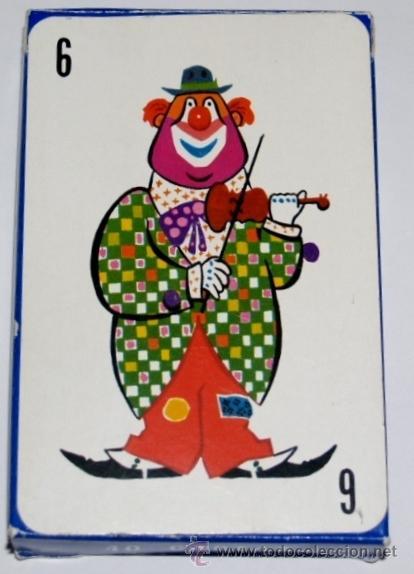 BARAJA INFANTIL EL CIRCO (1ª EDICIÓN ) (Juguetes y Juegos - Cartas y Naipes - Barajas Infantiles)