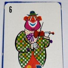 Barajas de cartas: BARAJA INFANTIL EL CIRCO (1ª EDICIÓN ). Lote 27513898