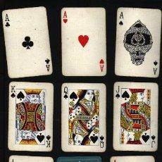 Barajas de cartas: BARAJA NAIPES 54 CARTAS .. ESTÁN SOBADAS. Lote 22426336