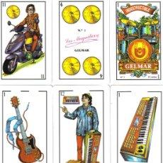 Barajas de cartas: BARAJA ESPAÑOLA MUSICAL LOS MAGNETICOS-AÑO 2000. Lote 181963580