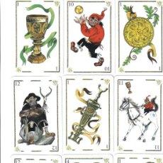Barajas de cartas: BARAJA ESPAÑOLA MITOLOGICA ASTURIANA(BARAJA AGOTADA)FOURNIER-AÑO 2004. Lote 186923096
