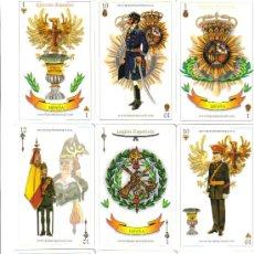 Barajas de cartas: BARAJA ESPAÑOLA DE LOS EJERCITOS Y FUERZAS ARMADAS-AÑO 2005. Lote 48843739