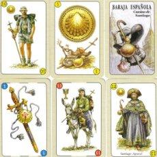 Barajas de cartas: BARAJA ESPAÑOLA CAMINO DE SANTIAGO-AÑO 2004. Lote 284029883