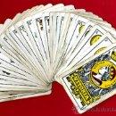 Barajas de cartas: BARAJA HERACLIO FOURNIER, CLASICA, RARA, ANTIGUA, 40 NAIPES, VER FOTOS ADICIONALES. Lote 27195645