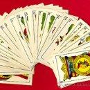 Barajas de cartas: BARAJA SEBASTIAN COMAS Y RICART, INCOMPLETA, 33 NAIPES, VER FOTOS ADICIONALES. Lote 26822909