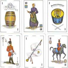 Baralhos de cartas: BARAJA ESPAÑOLA TAMBORRADA DE SAN SEBASTIAN-AÑO 1981. Lote 138075382