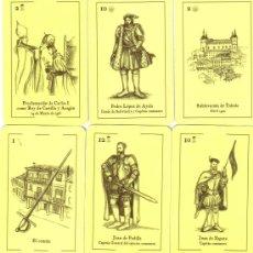 Barajas de cartas: BARAJA ESPAÑOLA COMUNERA HISTORICA DE CASTILLA Y LEON-AÑO 2010. Lote 114260290