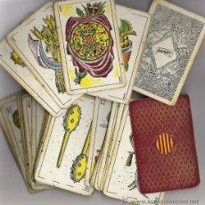 Barajas de cartas: BARAJA DE CARTAS AÑO 1935 **FOURNIER - MOLNE FECIT **. Lote 25311600