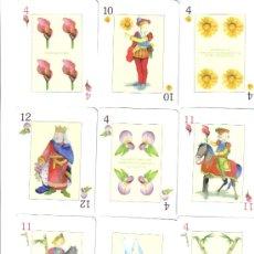 Barajas de cartas: BARAJA ESPAÑOLA DE LAS FLORES.-AÑO 2005. Lote 112365727