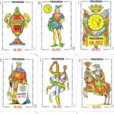 Barajas de cartas: BARAJA ESPAÑOLA PACHARAN OLAZT-AÑO 1990. Lote 47986513