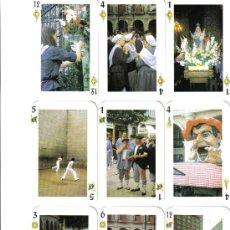 Barajas de cartas: BARAJA ESPAÑOLA FIESTAS DE VITORIA.-AÑO 2000. Lote 26724763