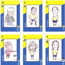 Barajas de cartas: BARAJA ESPAÑOLA DEL CADIZ CLUB DE FUTBOL-AÑO 2006. Lote 26550994