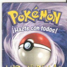 Barajas de cartas: LIBRO DE REGLAS CARTAS POKEMON.VERSION 2. 28 PAGINAS.. Lote 26704729