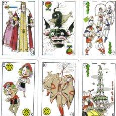 Barajas de cartas: BARAJA ESPAÑOLA FESTA MAYOR VILAFRANCA-FOURNIER-AÑO 1988. Lote 26375798