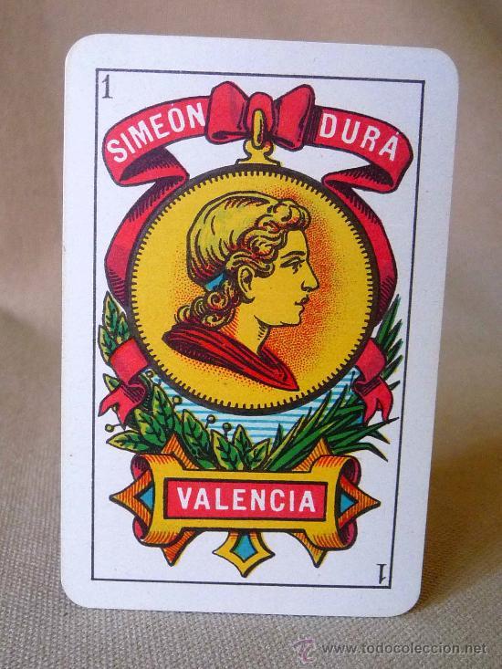 Barajas de cartas: BARAJA, NAIPES, ESPAÑOLA, SIMEON DURA, EL CID, Nº 25 CLASE ESPECIAL, TIMBRE DE 1,25 PESETAS, UNICA - Foto 6 - 23296640
