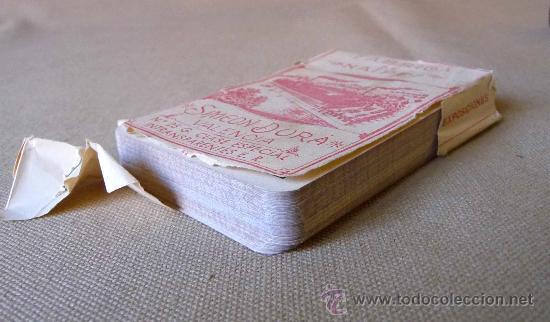 Barajas de cartas: BARAJA, NAIPES, ESPAÑOLA, SIMEON DURA, EL CID, Nº 25 CLASE ESPECIAL, TIMBRE DE 1,25 PESETAS, UNICA - Foto 4 - 23296640