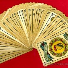 Barajas de cartas: BARAJA ESPAÑOLA CLASICA, SIMEON DURA, EL CID , TIMBRE 20 PTS. COMPLETA, ORIGINAL, 48 NAIPES, B. Lote 107044540