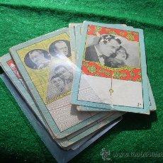 Barajas de cartas: DOMINO BARAJA CHOCOLATE NAIPE CROMO CINEMATOGRAFICO CINE MUDO REF 16. Lote 245501230