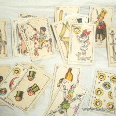 Barajas de cartas: BARAJA INFANTIL J.PÉREZ DEL MURO,PRODUCTOS MI NIÑO,L.GOMEZ DE SELLER,AÑOS 30 Ó 40. Lote 22949107